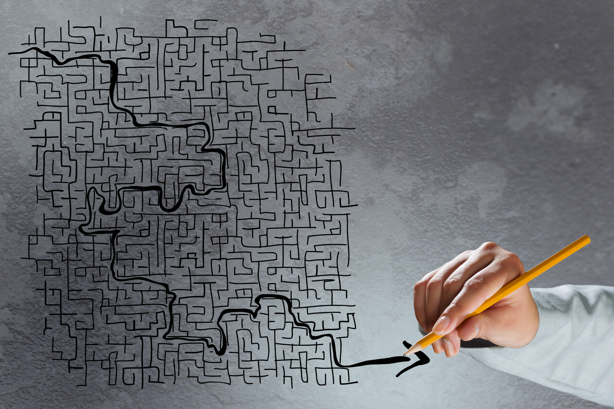 3 Phasen beim Lösen von Mustern